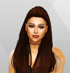Ariana Grande Sim and Face Mask at Simpliciaty • Sims 4 Updates