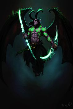 DeviantArt: More Like Rommath by KimberlySwan Dota Warcraft, Warcraft Heroes, Warcraft Legion, World Of Warcraft Addons, World Of Warcraft Characters, My Demons, Angels And Demons, Illidan Stormrage, Wow Video