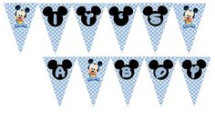 Baby Mickey Cupcake Toppers It's a Boy - Baby Shower Party Supplies - partyexpressinvitations Gateau Baby Shower, Baby Shower Cupcake Toppers, Mickey Mouse Baby Shower, Baby Mouse, Fiesta Baby Shower, Baby Boy Shower, Ballons Mickey Mouse, Minnie Mouse, Toddler Girls