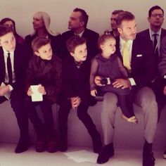 We're STILL swooning over this amazing Beckham family snap. <3