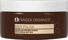 #COCOABUTTER: Like chocolate, cocoa butter contains natural compounds that promote relaxation. Massaging the skin with cocoa butter has been shown to help relieve stress and boost skin elasticity. Along with promoting a sense of well-being, this incredible natural resource is chock full of powerful antioxidants to help soothe, hydrate, balance and combat visible signs of aging. Try our BRAZILIAN BROWN SUGAR WITH COCOA BUTTER BODY POLISH. You will love it!  $22
