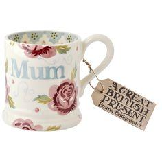 Emma Bridgewater Rose & Bee MUM 0.5 Pint Mug 2015
