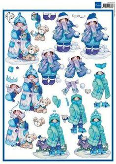 snoesjes hiver 3D
