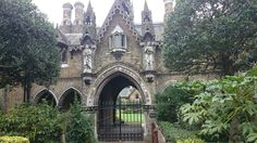 On the way to Highgate Cemetery in London