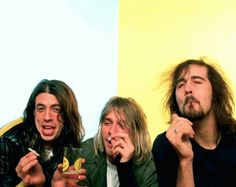 Nirvana Funny | NIRVANA IS MY FAVOURITE BAND AND I ADORE ALL SONGS FROM THEM!! Share