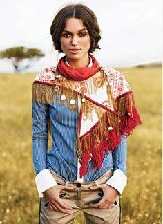 Balenciaga scarf. Keira Knightley. Africa.