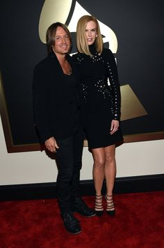 Pin for Later: Seht alle Stars bei den Grammys! Keith Urban und Nicole Kidman