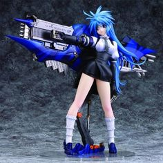 """Mine Yoshizaki Limit Gunz 8"""" Pvc Statue Figure -- To view further for this item, visit the image link. (This is an affiliate link) #ActionToyFigures"""