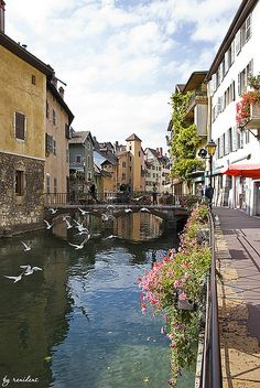 historical centre of Annecy,France