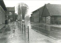 Hauptstraße vom Ortseingang in den 50er Jahren (Bild: Aloys Pohlmann)