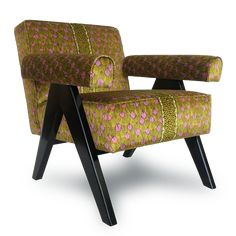 Zambezi Feather Chartreuse Occasional Chair – Ardmore Design