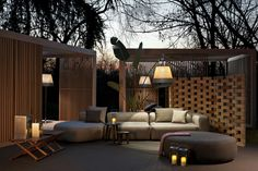 Luxury Outdoor Furniture Shines at Milan Design Week 2018 ⇒ The weather is getting warmer and Summer is drawing near. Milan Design Week 2018 is the Outdoor Spaces, Outdoor Living, Pavillion, Milan Design, Luxury Living, Modern Living, Outdoor Furniture, Outdoor Decor, Recycled Furniture
