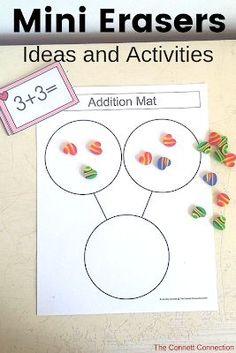 Mini Eraser Ideas and Uses