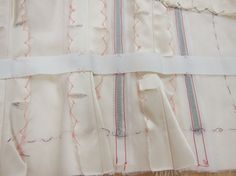 Invisible Details of a Couture Garment: The Waist Stay. #sewing #couture #waist_stay #sewing_tips