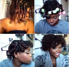 NATURAL HAIR STEP BY STEP