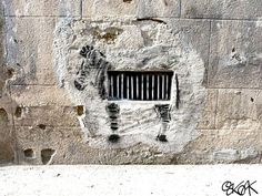 French artist Oakoak imbues his charming works of street art with a heavy dose of pop-culture whimsy.