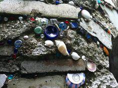 Mosaics.  Use what you've got.