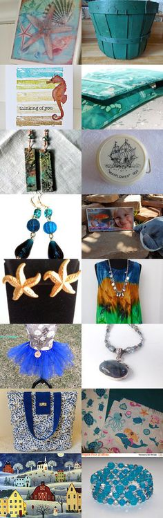 WATER  RIVERS  OCEANS by Jackie Irvin on Etsy--Pinned+with+TreasuryPin.com