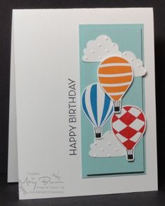 stampin up: up, up, and away