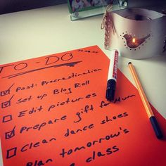 Gonna have a very #productiveday with this #todolist  #productivity #getstuffdone