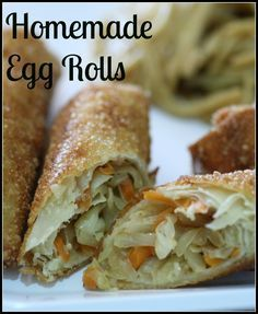 how to make bean sprout egg rolls