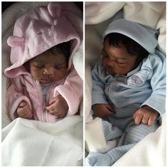 My baby doll Newborn Black Babies, Cute Black Babies, Cute Twins, Little Babies, Cute Babies, Baby Kids, Baby Boy, Black Twin Babies, Cute Family