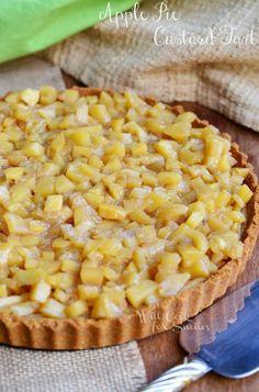 Apple Pie Custard Ta