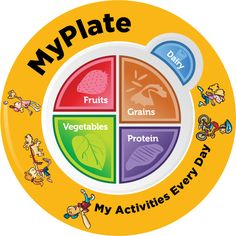 MyPlate Plate Plastic - Nutrition Education Store Exclusive Design - 1 Plate With - Teaching: Life Skills - Nutrition Education, Sport Nutrition, Nutrition Quotes, Nutrition Activities, Proper Nutrition, Nutrition Plans, Kids Nutrition, Nutrition Tips, Healthy Nutrition