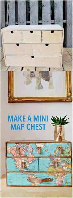 Map out the IKEA MOPPE Chest of Drawers http://www.ikeahackers.net/2017/04/map-ikea-moppe-chest-drawers.html
