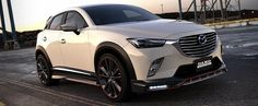 Mazda CX-3 Gets Aggressive Body Kit from DAMD, Looks Like NFS Racer