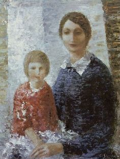 Oto Skulme (1889-1967) - Mother and Daughter, 1932