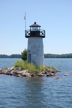 The Ladies Delight Light is a small lighthouse on Lake Cobbossee, in Winthrop, Maine