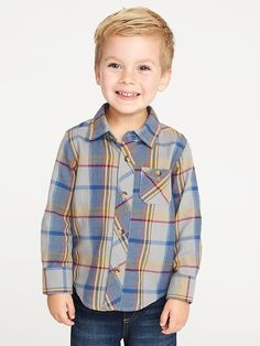 Old Navy Plaid Pocket Shirt for Toddler Boys Cute Boys Haircuts, Toddler Boy Haircuts, Toddler Boys, Toddler Boy Fashion, Kids Fashion, Stitch Fix Kids, Cute Baby Pictures, Fall Pictures, Young Cute Boys