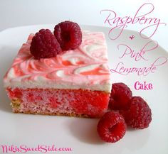 Raspberry Pink Lemonade Cake by Niki's Sweet Side