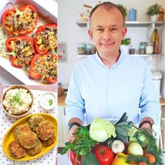 Przepis na sernik nie opadający - MniamMniam.com Kefir, Potato Salad, Potatoes, Ethnic Recipes, Food, Potato, Hoods, Meals