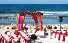 Indian Ceremony at Oleander Beach #halfmoonresort