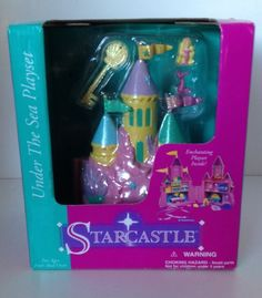 Under the Sea Starcastle (I still have the shell key )