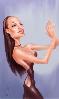 Angelina Jolie by bogdancovaciu on DeviantArt