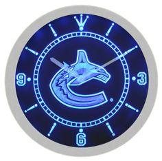 85 Best Neon Wall Clocks Gt Sport Teams Images Wall Bar