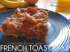 Cinnamon Brown Sugar French Toast Bake