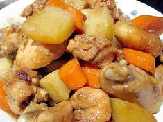 Poulet aux pommes de terre et carottes au cookeo, délicieux plat pour le repas principal avec la recette poulet aux pommes de terre et carottes au cookeo,