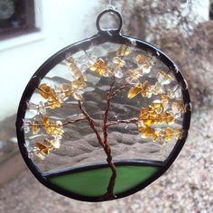 Citrine Tree of LIfe suncatcher (100mm version) £10.00
