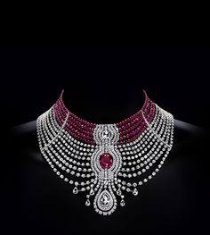 Rouge Cartier - Edito XXVII Birnnal de Paris- The Cartier Royal High Jewelry Collection