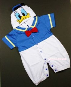 Infant Baby Donald Duck Romper Halloween Party Costume Cosplay Outfit NB 18Month | eBay