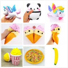 Jumbo Slow Rising Squishies Scented Squishy Squeeze Collect GiftsToys For Kids
