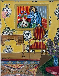 Matisse's Room, catherine nolin
