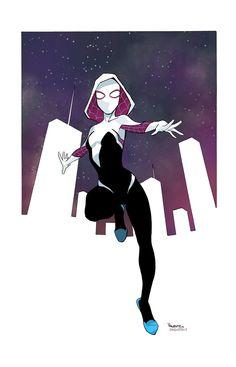 Spider-Gwen by Fabián Cobos