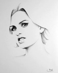 Custom Portrait Fine Art Drawing Commission by by IleanaHunter