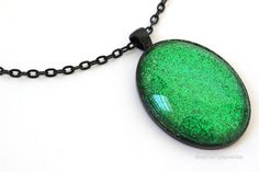 Evanora's Emerald Necklace: Inspired by Oz the Great & Powerful - Happiness is Homemade