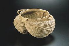 White Oak Egg Basket by Cynthia Taylor #finecraft